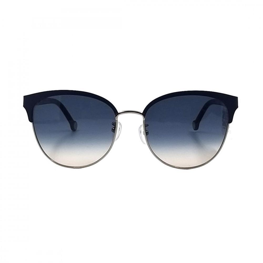 سعر نظارات كارولينا شمسية للنساء - شكل واي فيرر - لون اسود - زكي