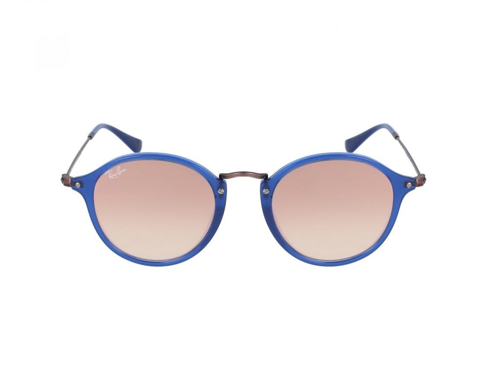 سعر نظارة ريبان شمسية للرجال - شكل دائري - لون أزرق - زكي للبصريات
