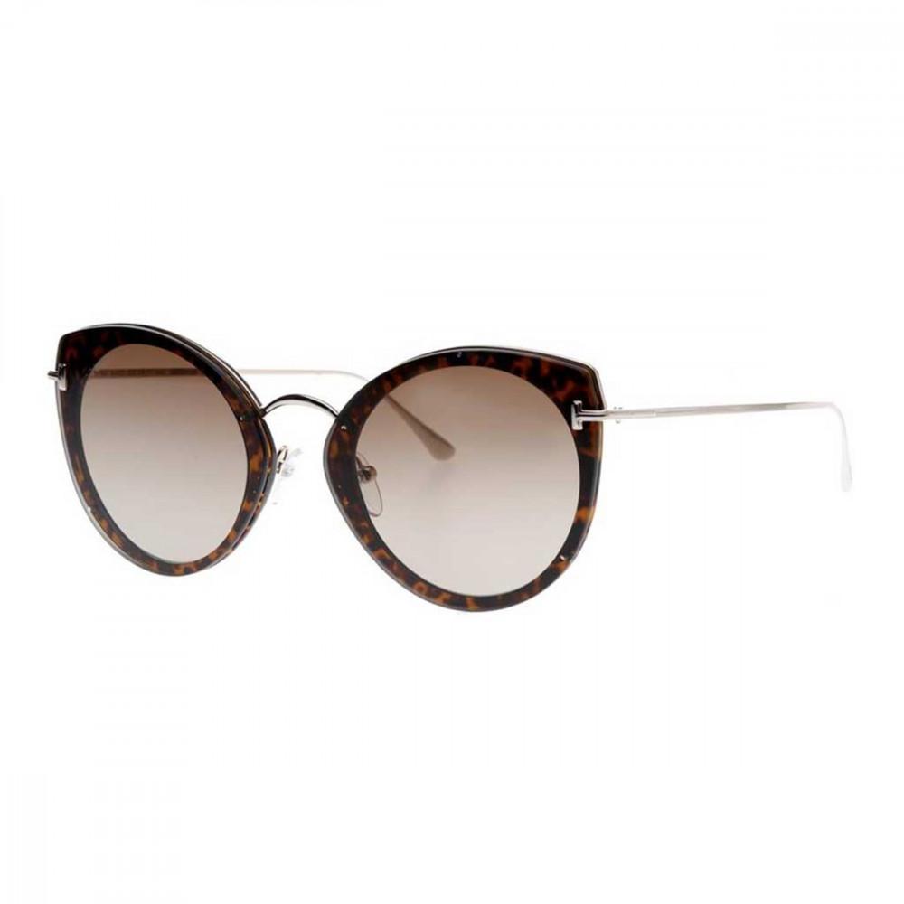 نظارات توم فورد نسائي شمسيه - كات أي - لون ذهبي - زكي للبصريات