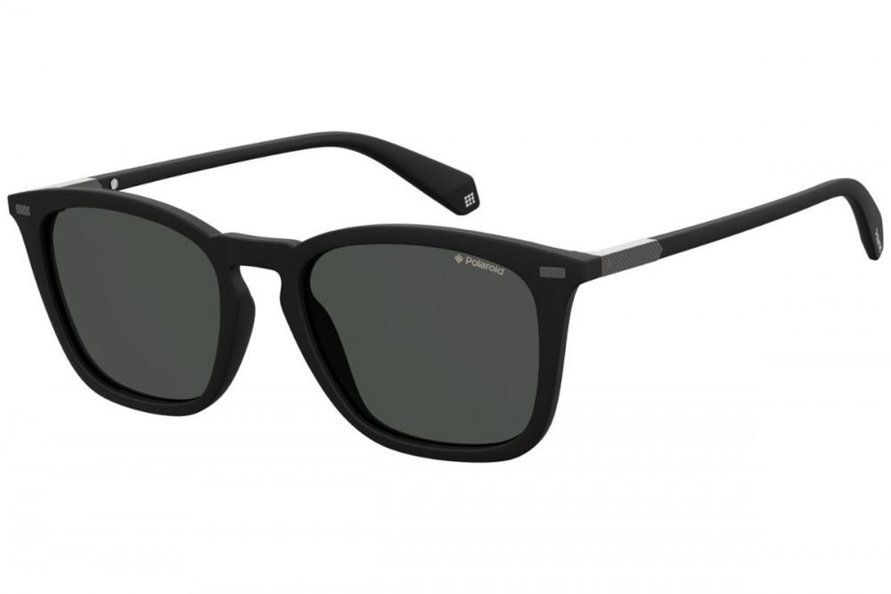 نظارة بولارويد شمسية للجنسين - شكل واي فيرر - لون أسود - زكي للبصريات