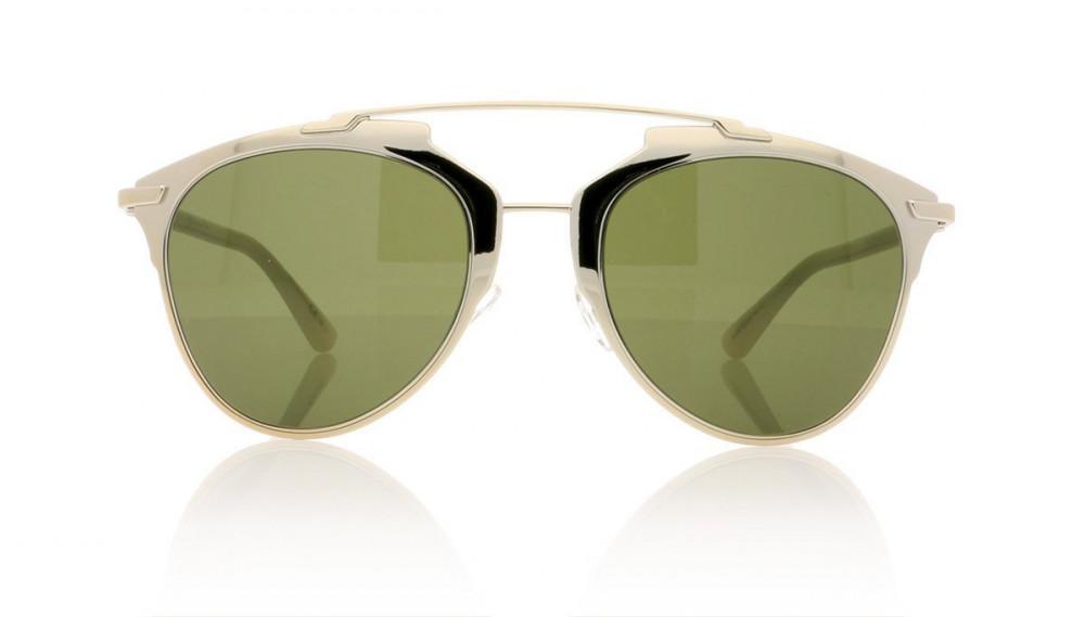 افضل نظارة ديور هوم للجنسين - شكل كات أي - لون ذهبي - زكي للبصريات
