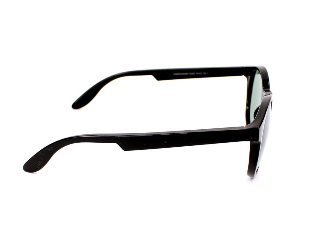 شراء نظارة كاريرا شمسية رجاليه - شكل دائري - لون أسود - زكي للبصريات