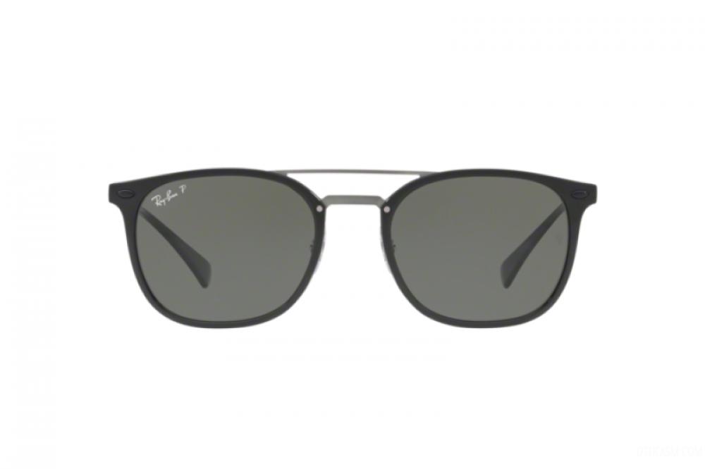 افضل نظارة ريبان شمسية للرجال - لون اسود - زكي للبصريات