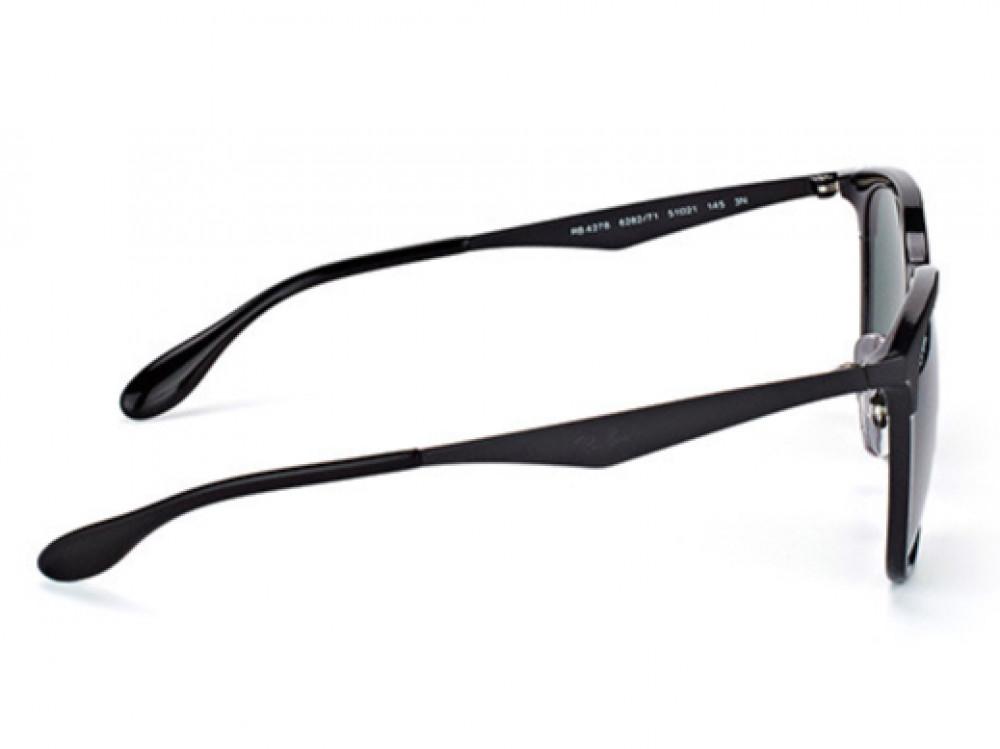 احسن نظارة ريبان شمسية للرجال -  أسود - زكي للبصريات