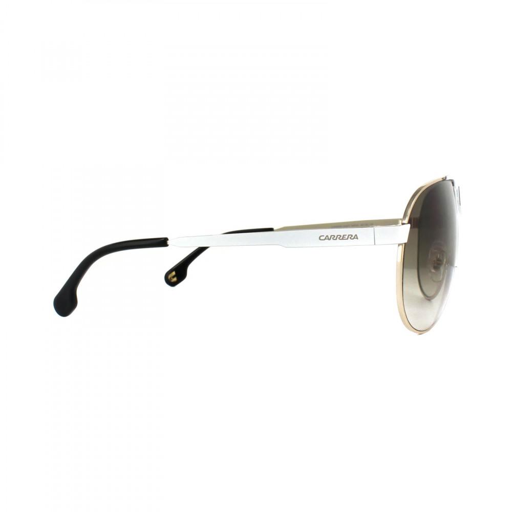احسن نظارات ماركة carrera شمسية للرجال - افياتور - لون فضي - زكي