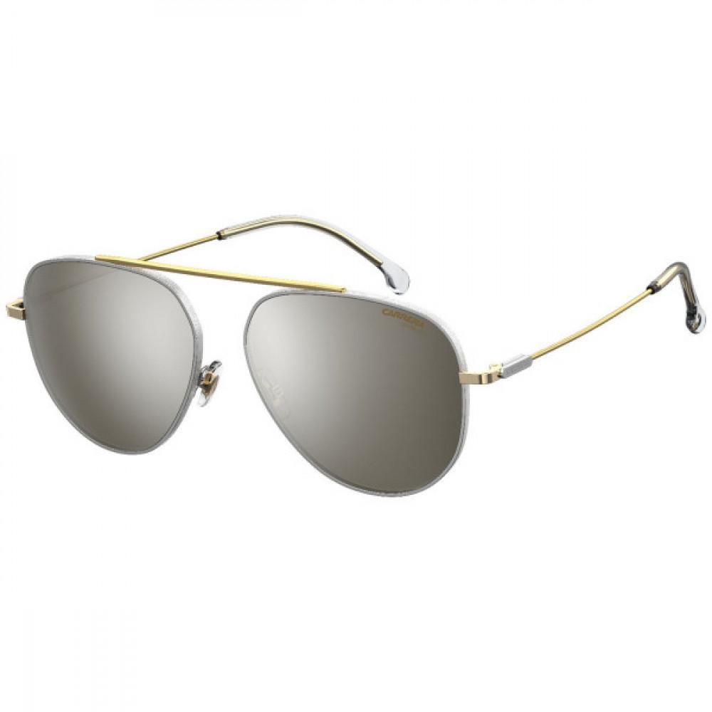 نظارة كاريرا شمسية للرجال - شكل افياتور - لونها ذهبي - زكي للبصريات
