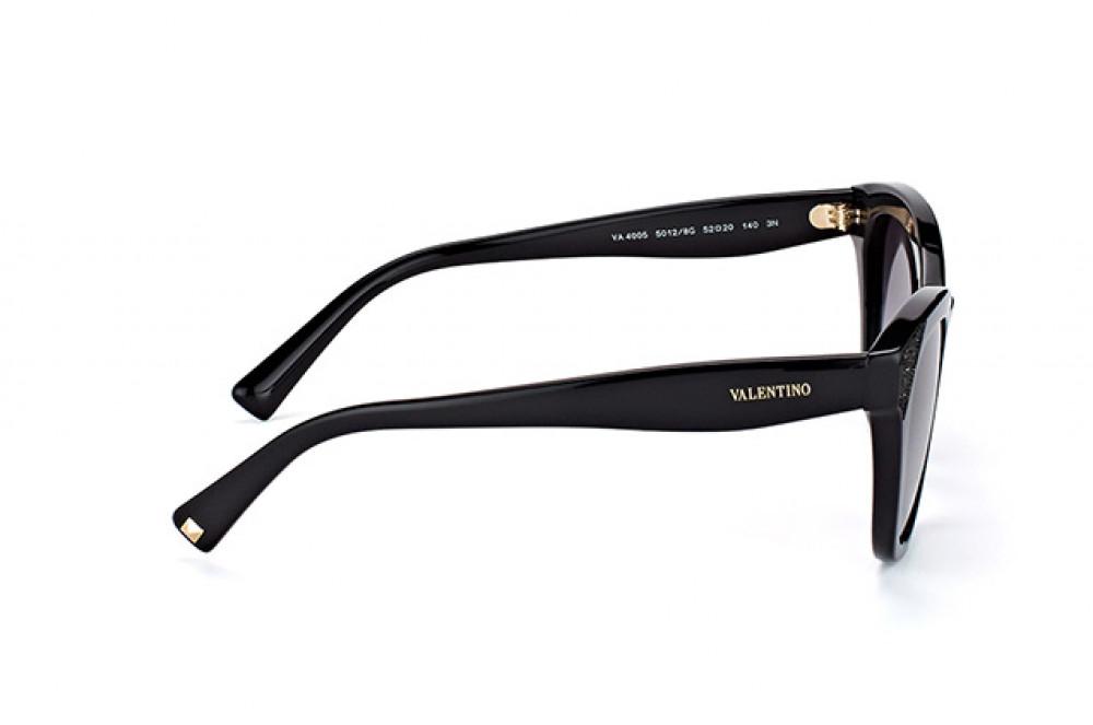 سعر نظارة فالنتينو شمسية للنساء - كات أي - لون أسود - زكي للبصريات
