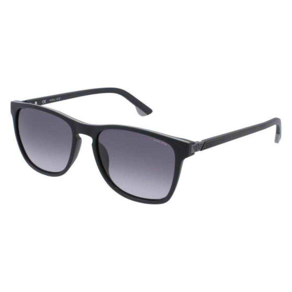 نظارة بوليس شمسية رجالية - واي فيرر - لون أسود - زكي للبصريات