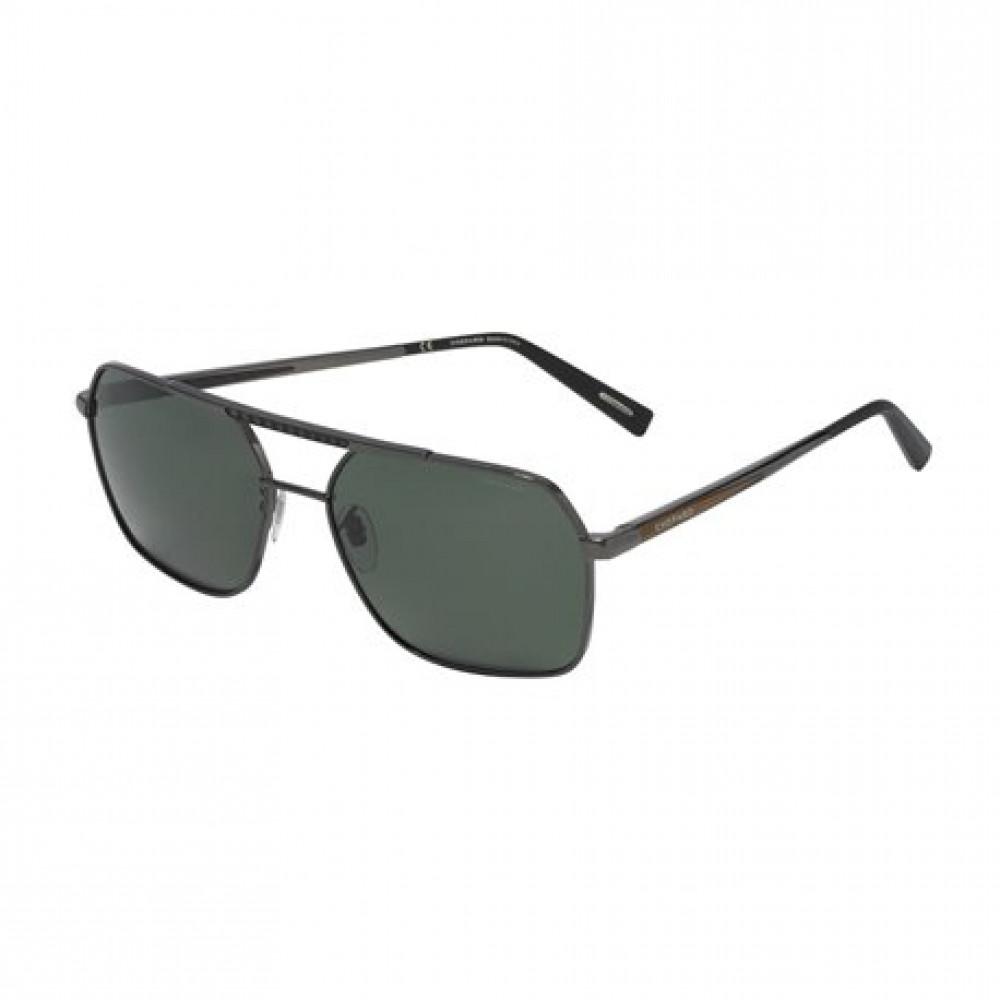 نظارة شوبارد شمسية للرجال - شكل مستطيل - لون أسود - زكي للبصريات