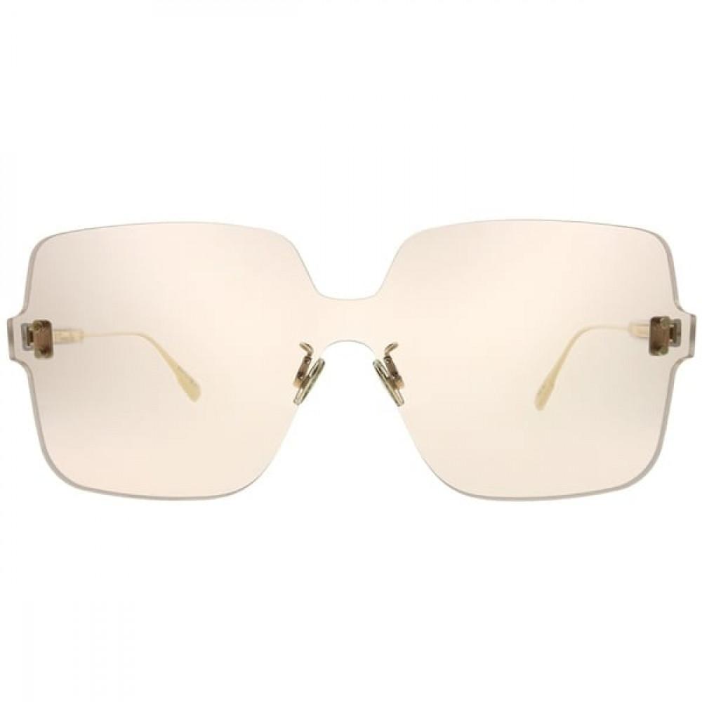 افضل نظارات شمسية نسائية ديور - شكل مربع - لون وردي - زكي