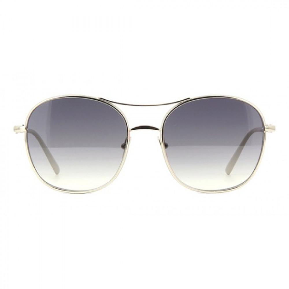 افضل نظارة كلوي شمسية للنساء - شكل دائري - لون نحاسي - زكي