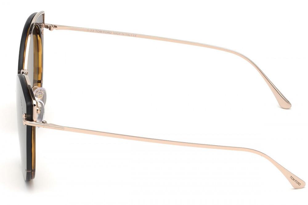 شراء نظارات توم فورد نسائي شمسيه - كات أي - لون ذهبي - زكي للبصريات