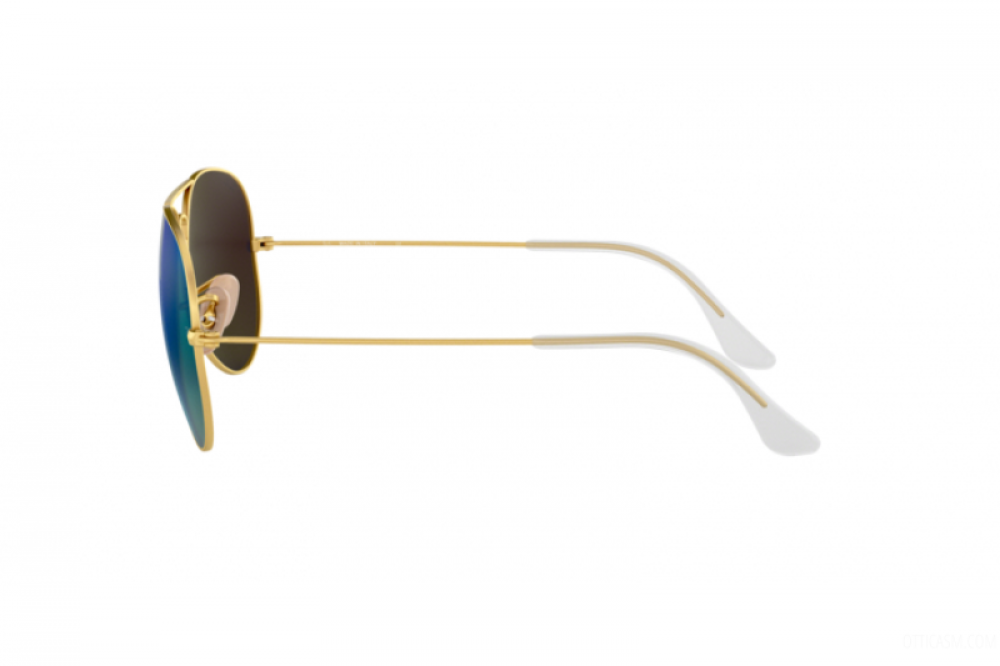 احسن نظارة ريبان شمسية للرجال - ذهبية - افياتور - زكي للبصريات
