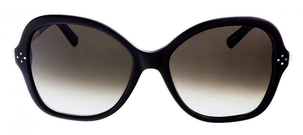 افضل نظارة كلوي شمسية للنساء - شكل افياتور - لون أسود - زكي