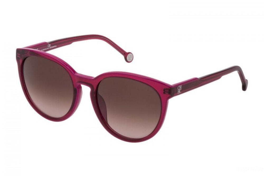 نظارات كارولينا شمسية للنساء - شكل دائري - لونها عودي - زكي