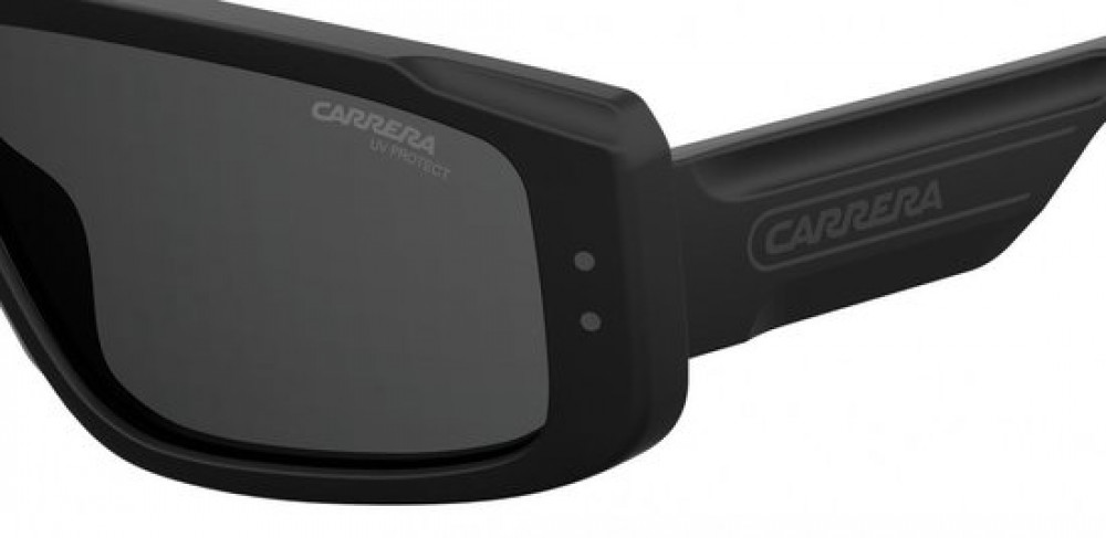 احسن نظارات ماركة carrera شمسية للجنسين - ماسك - لون اسود - زكي للبصري