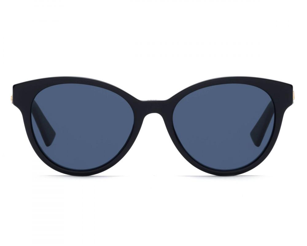 افضل نظارات شمسية نسائية ديور - شكل كات اي - لون اسود - زكي