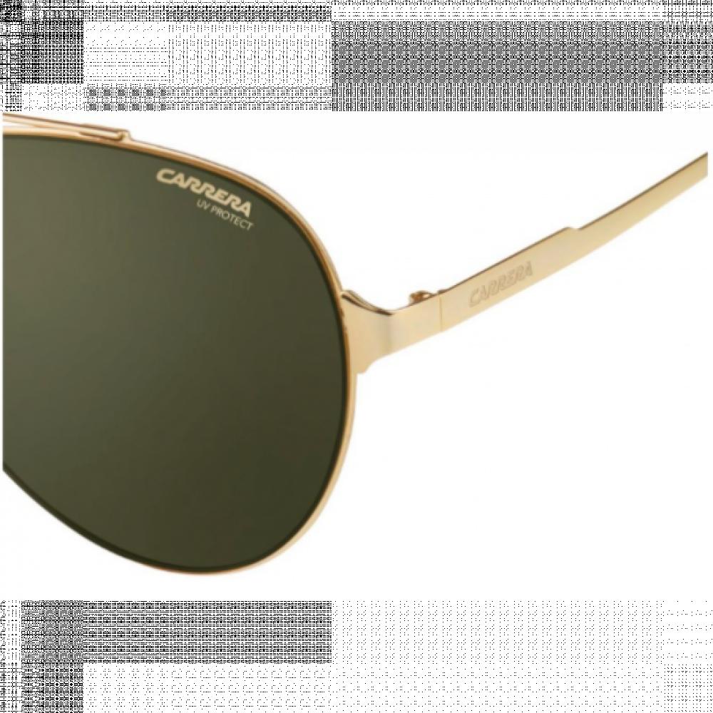 نظارة كاريرا شمسية رجاليه - شكل أفياتور - لونها ذهبي - زكي للبصريات