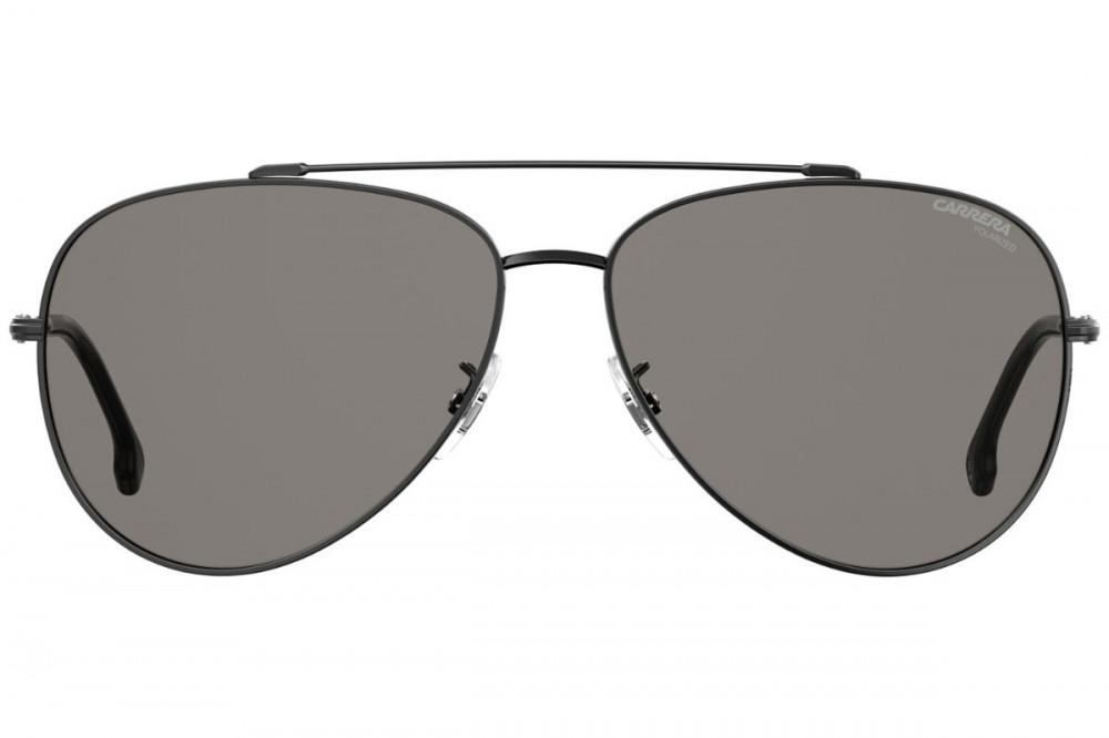 افضل نظارة كاريرا شمسية رجاليه - شكل افياتور - لون رمادي - زكي للبصريا