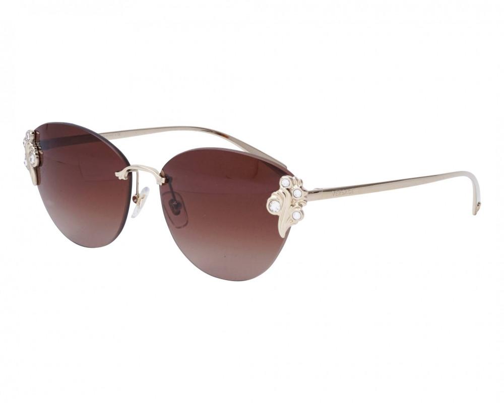 نظارات شمسية نسائية فرزاتشي - كات اي - لون ذهبي - زكي للبصريات