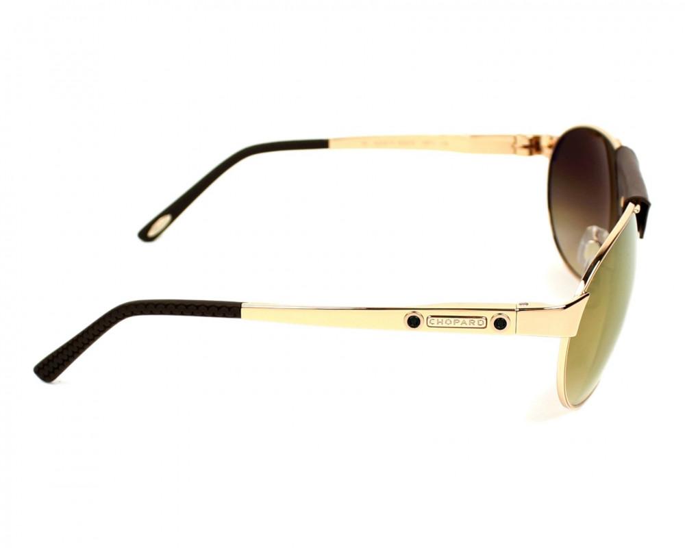 احسن نظارة شوبارد شمسيه للرجال - افياتور - لون بني - زكي للبصريات