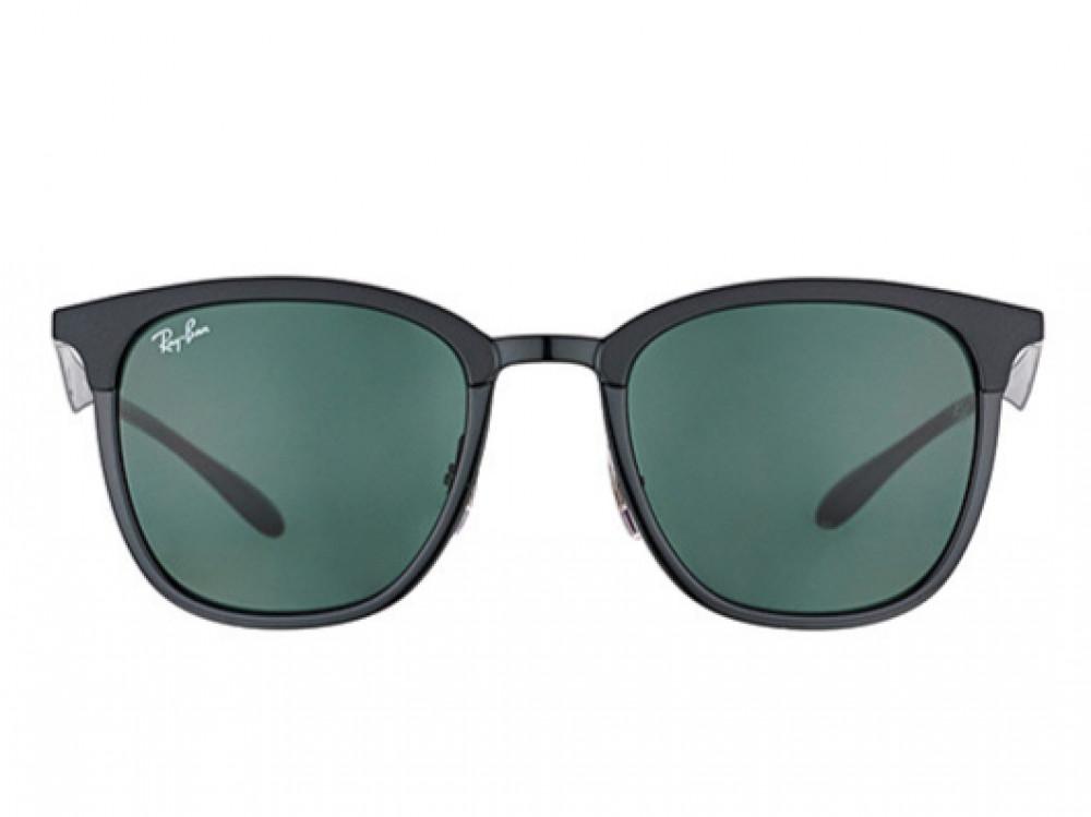 افضل نظارة ريبان شمسية للرجال -  أسود - زكي للبصريات