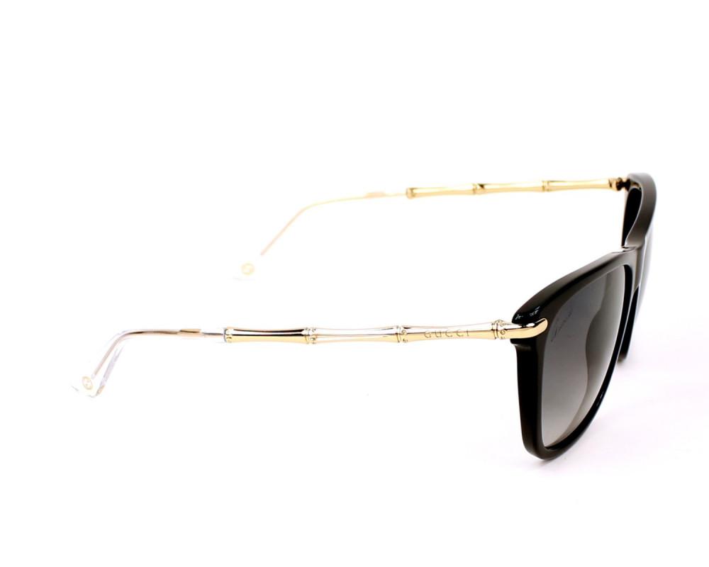 شراء نظارة قوتشي نسائي شمسية - شكل واي فيرر - لون اسود - زكي للبصريات
