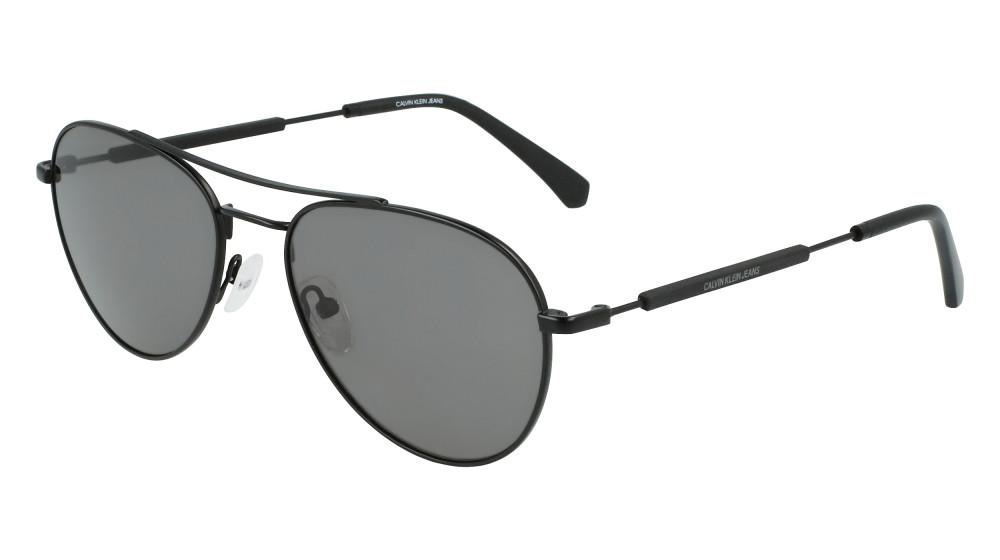 نظارات كالفن كلاين الشمسية للجنسين - افياتور - اسود - زكي للبصريات