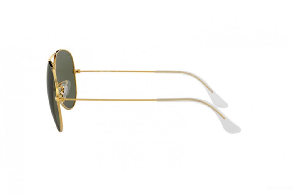 احسن نظارة ريبان شمسية نسائية ورجالية - افياتور - ذهبي - زكي للبصريات