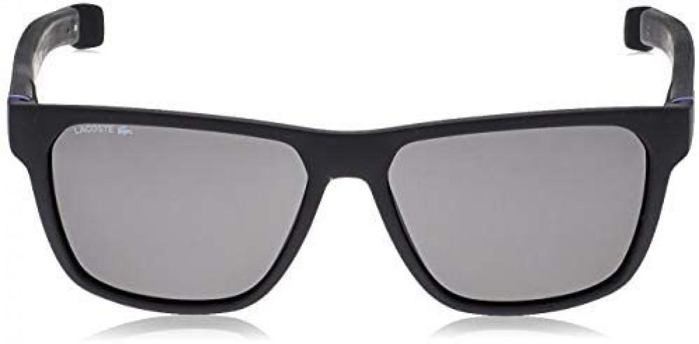 شراء نظارات شمسية رجالية لاكوست - افياتور - لونها اسود - زكي