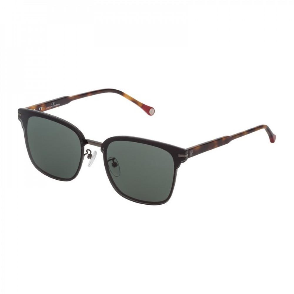 كارولينا هيريرا نظاره شمسية للجنسين - شكل واي فيرر - لون اسود - زكي