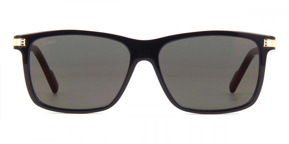 شراء نظارات شمسية رجالية كارتير - مربع - اسود - زكي