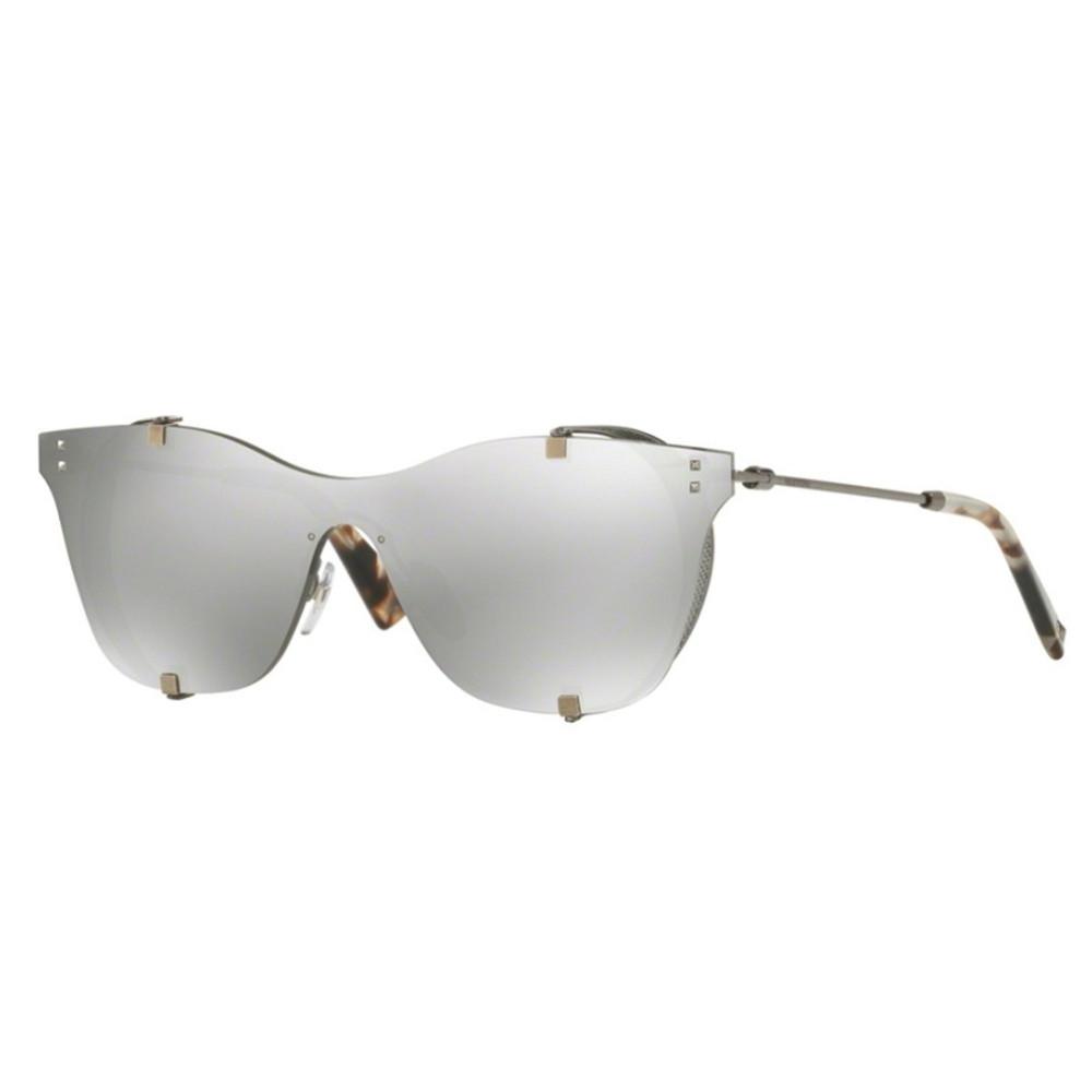 نظارة فالنتينو شمسية للنساء - كات أي - لون فضي - زكي للبصريات