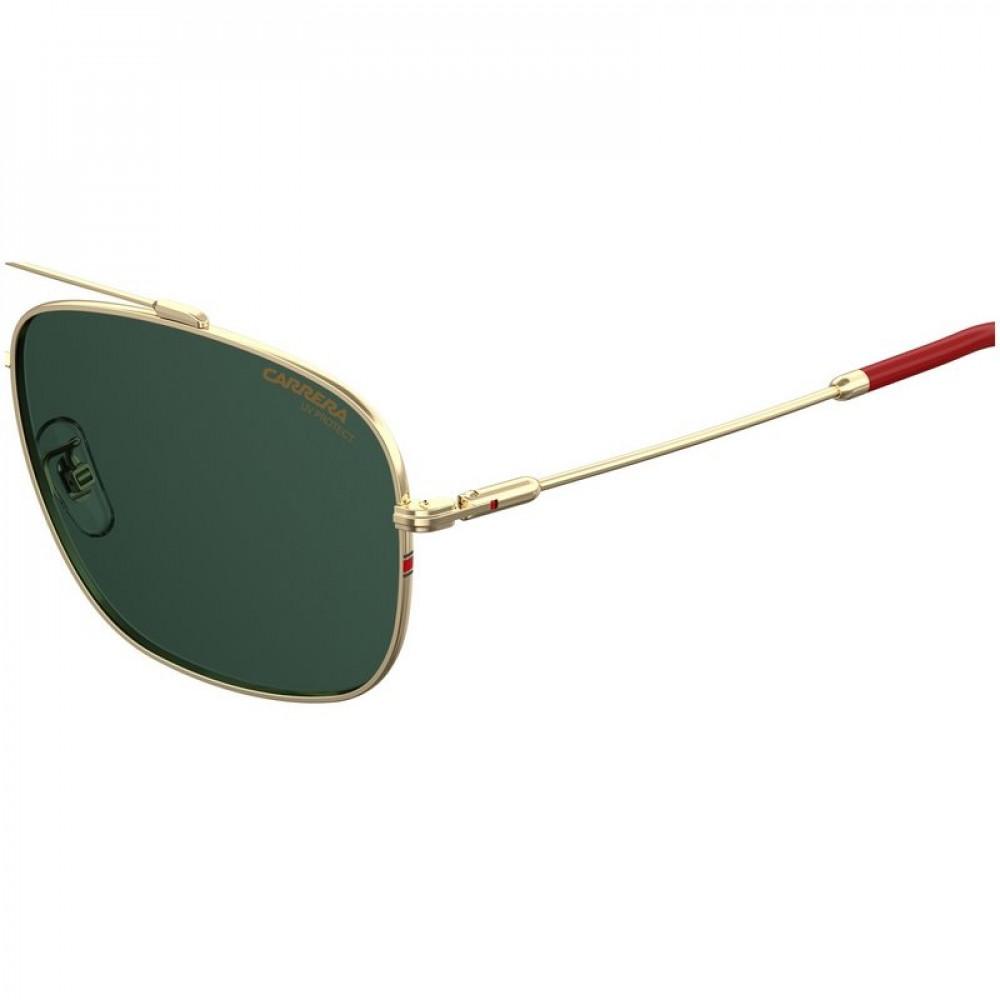 احسن نظارة كاريرا شمسية رجاليه - شكل افياتور - لون ذهبي - زكي للبصريات