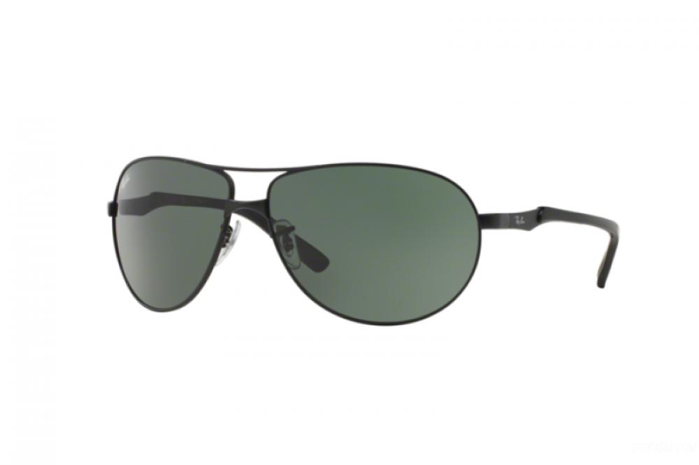 نظارة ريبان شمسية للرجال - أسود - افياتور - زكي للبصريات