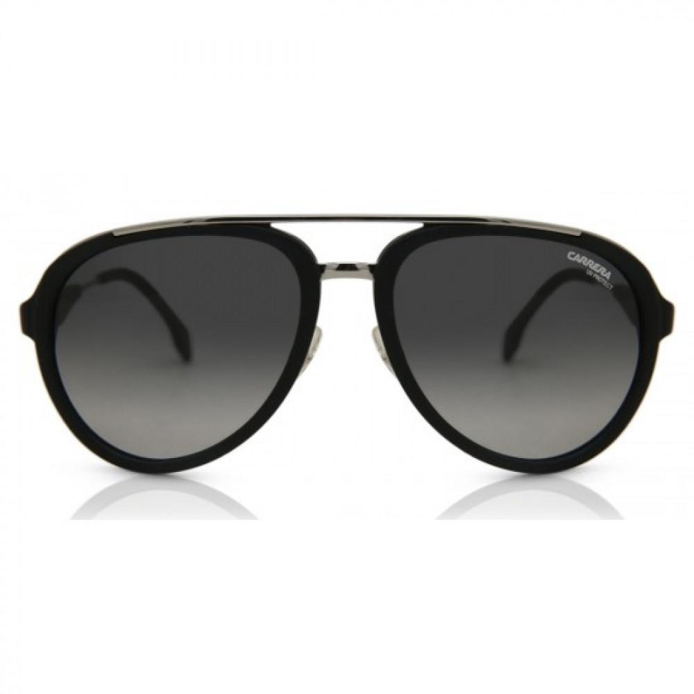 نظارة كاريرا شمسيه للرجال - الشكل أفياتور - اللون أسود - زكي للبصريات