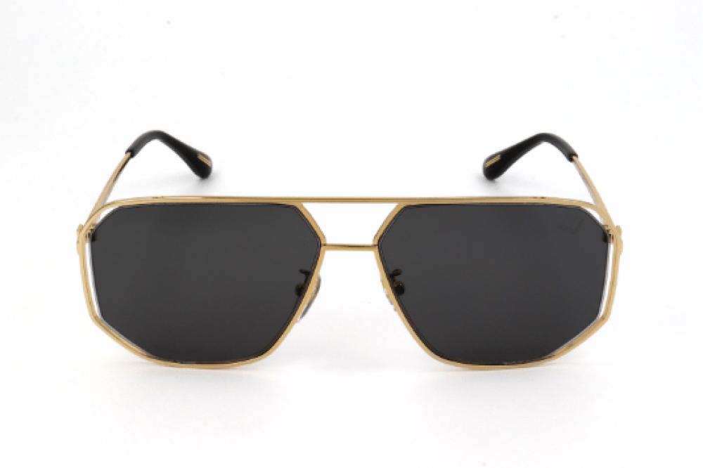 افضل نظارات دنهل شمسية للجنسين - افياتور - لون ذهبي - زكي للبصريات