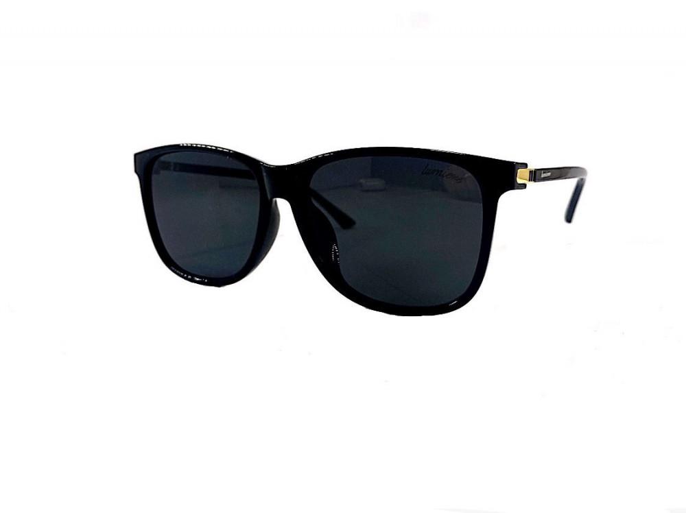نظاره لومير شمس للجنسين - شكلها مربع - لون أسود - نظارات زكي