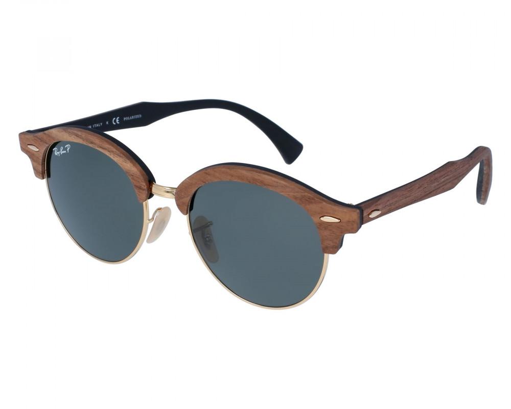 نظارة ريبان شمسية للرجال -  بني - زكي للبصريات