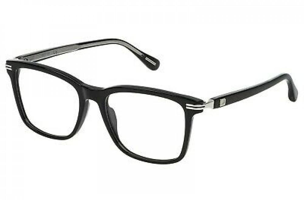 نظارات دنهل شمسية للجنسين - شكل مستطيل - لون أسود - زكي للبصريات
