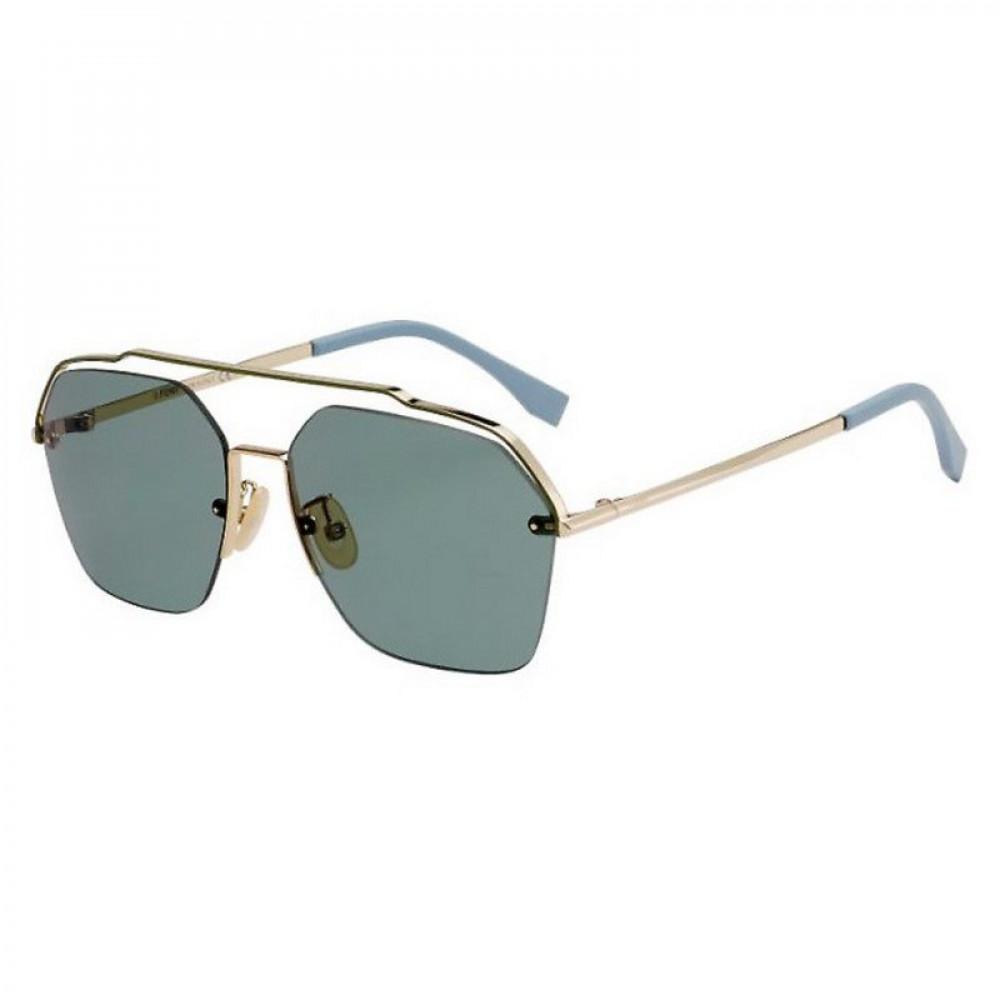 نظارة فندي شمسية للجنسين - غير منتظمه الشكل - زكي للبصريات