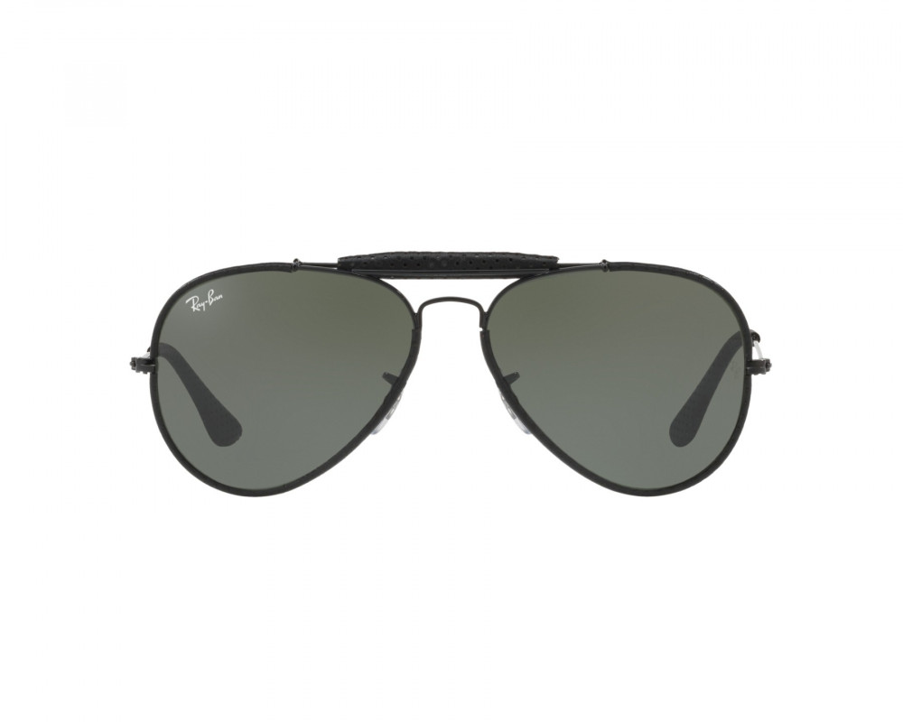 افضل نظارة ريبان شمسية للرجال - اسود - افياتور - زكي للبصريات
