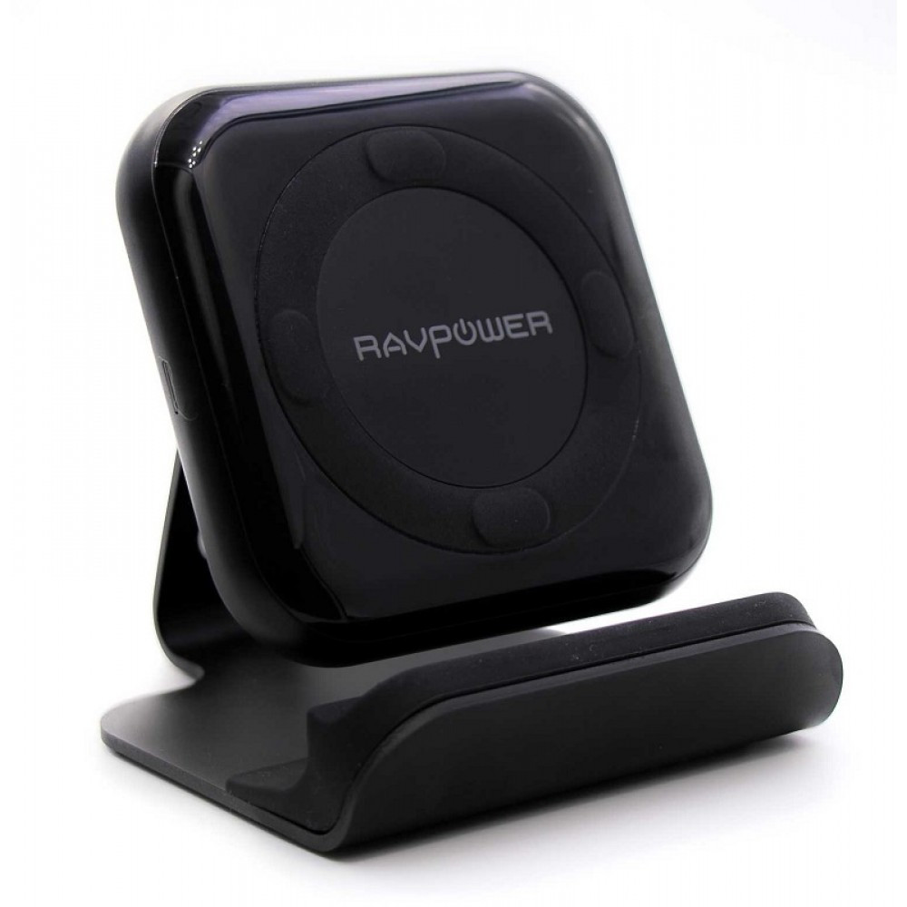 RAVPower QC3 10W Fast Wireless Charging Pad with Stand