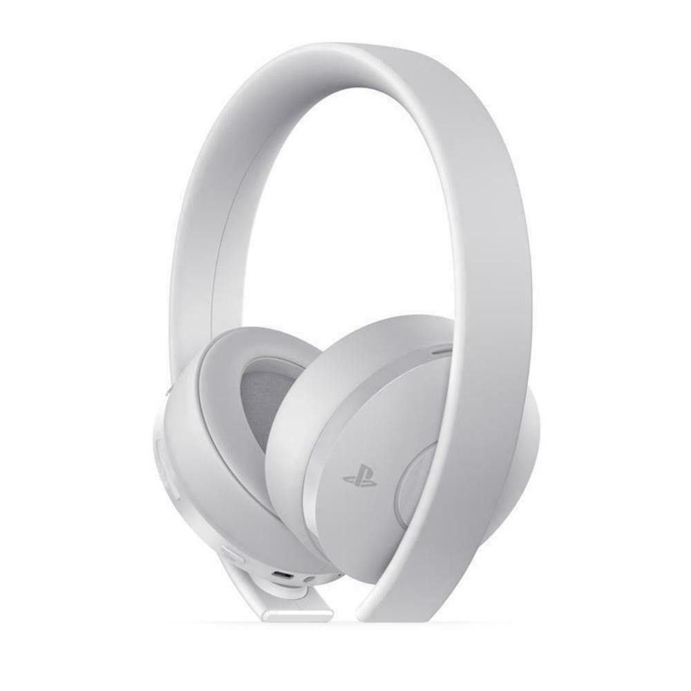 PlayStation 4 Gold  White Wireless Headset