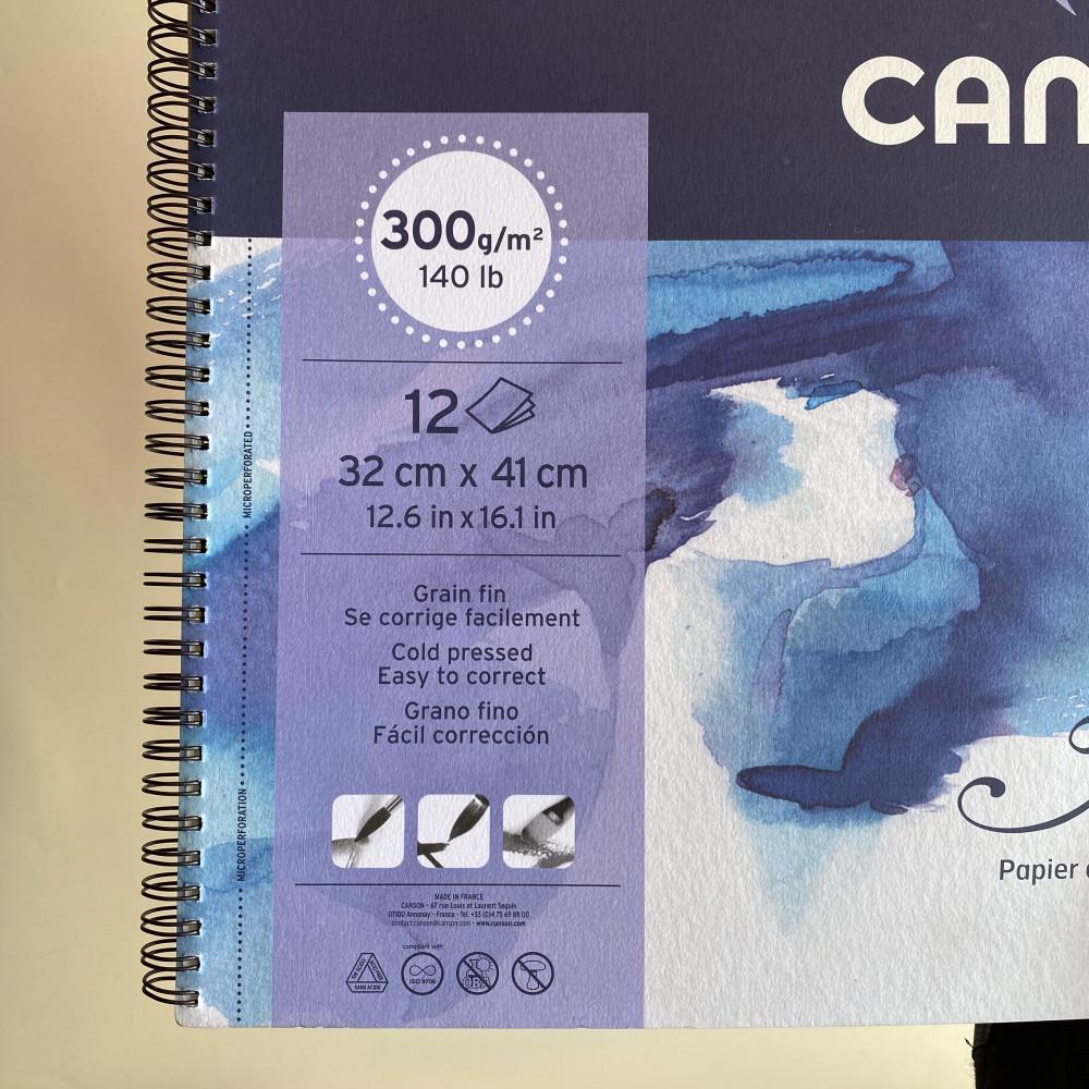 كراسة كانسون مونتفال المائية Canson Montval watercolour Pad 300gsm