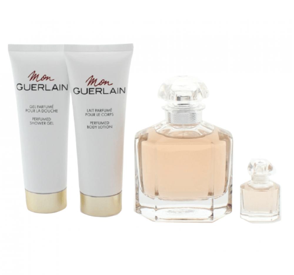 Guerlain Mon Eau de Parfum 100ml 4 Gift Set متجر خبير العطور