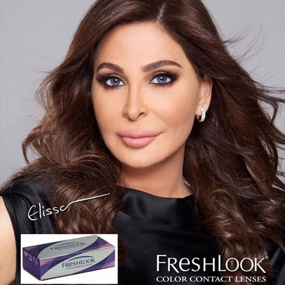 عدسات فريش لوك بلندز Freshlook lenses blends