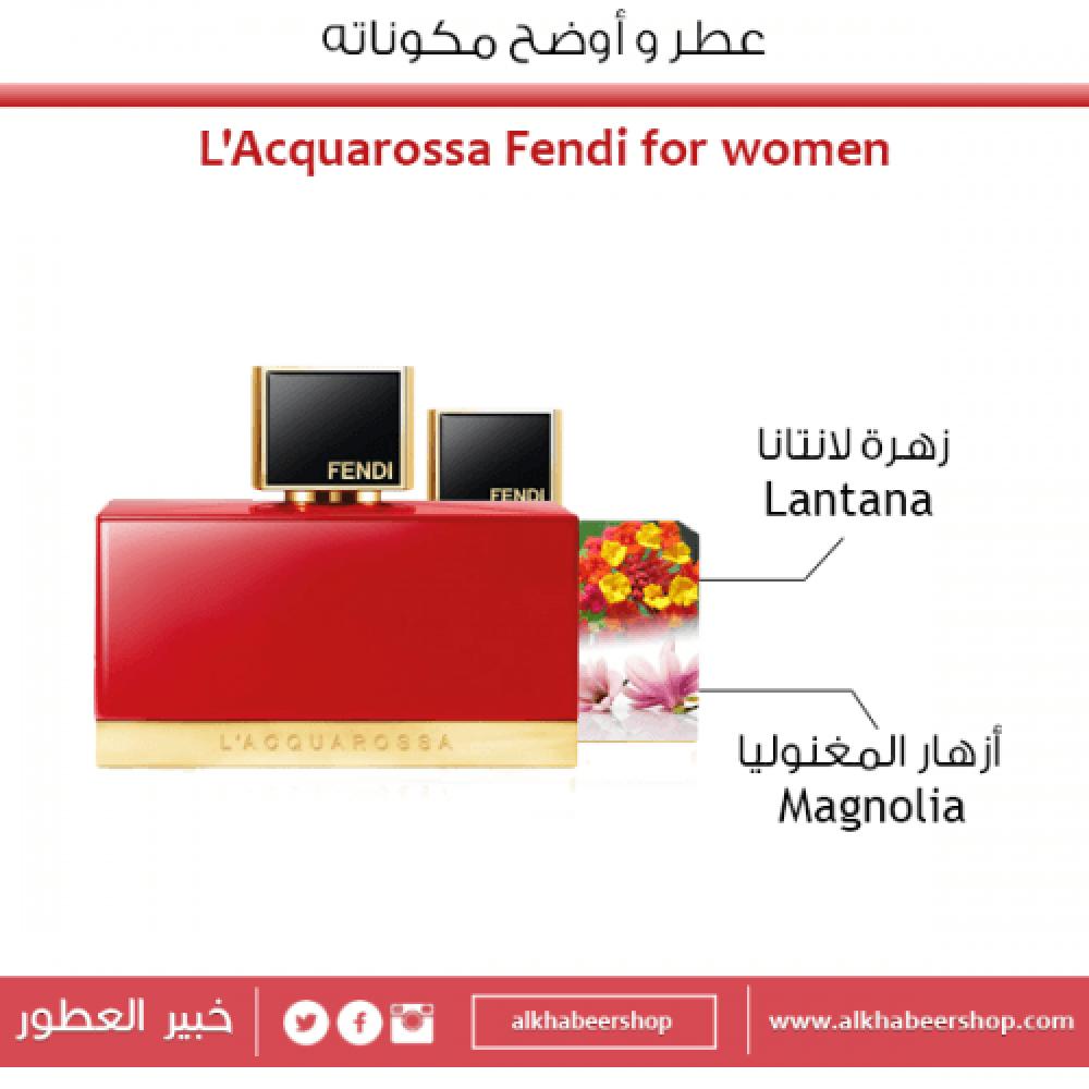 Fendi L Acquarossa Eau de Parfum 50ml متجر الخبير شوب