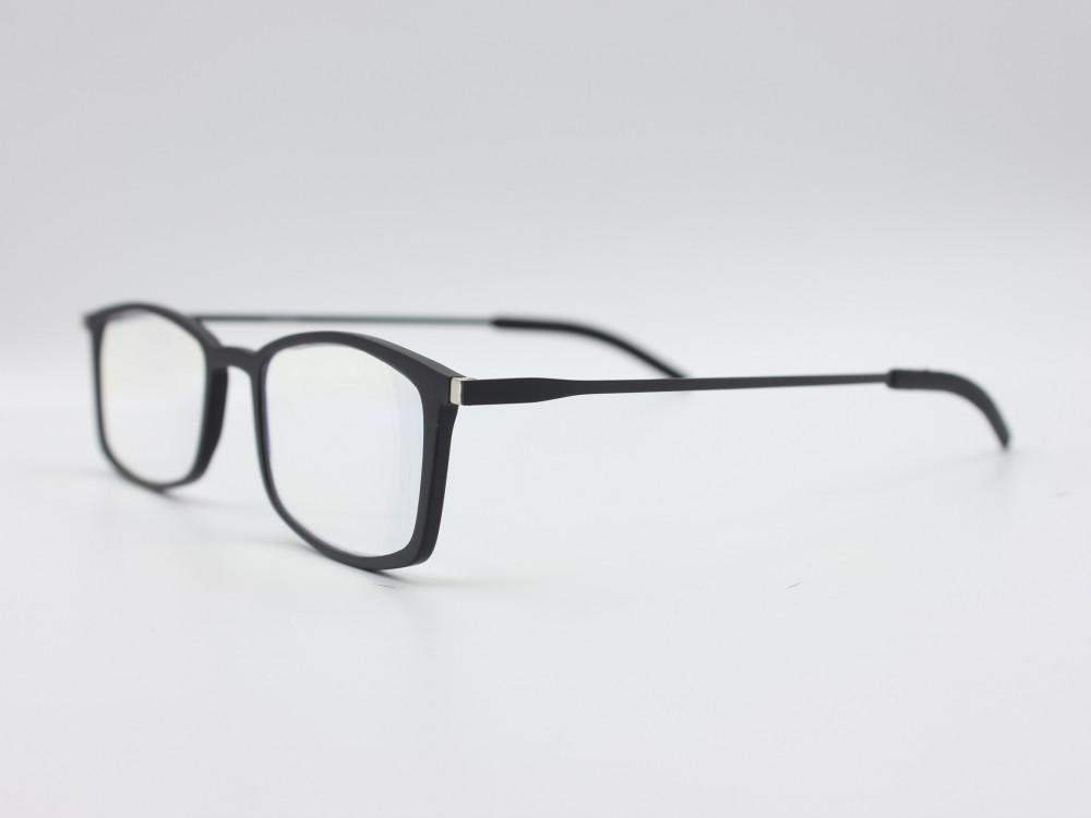 نظارة قراءه من ماركة HUMMER للجنسين بإطار اسود انيق تناسب جميع الأعمار