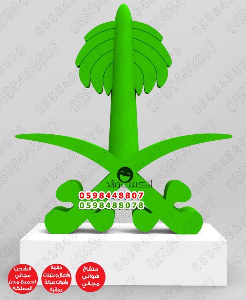 مجسم علم السعودية علم السعودية نفخ علم اليوم الوطني بوابة قوس منطاد